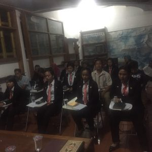 Acara pelepasan Siswa Sarekah sebelum berangkat ke Jepang