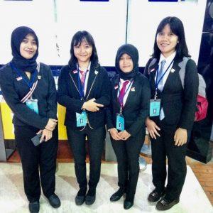 Foto siswa Sarekah sebelum keberangkatan ke Jepang